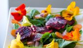 Salades de fleur pour la Journée mai
