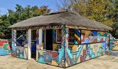 Les maisons peintes de Les Ndebeles