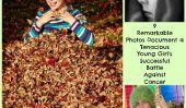 9 Photos remarquables Documenter bataille réussie d'un Tenacious jeune fille contre le cancer