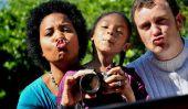 comment prendre une famille d'auto-portrait impressionnant pour vos cartes de vacances