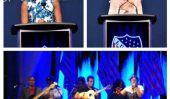 """La Santa Cecilia wows LULAC, la Première Dame Michelle Obama et Jennifer Lopez avec un Spin multiculturelle sur The Beatles '' Strawberry Fields """"Inspiré par les travailleurs migrants"""