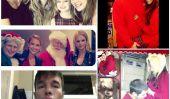 De Christina Aguilera Pour Jessica Simpson-The Best Of 2012 Celebrity Noël Mises à jour Twitter photos!