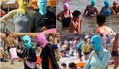 Les dernières chinoise Craze Beach - Face-kini