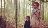 Salutations du Japon!  Jessica Alba Tweets Plus Grands Pics familiales (Photos)