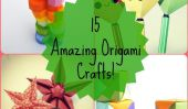 15 étonnants Origami Crafts