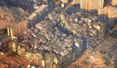 Kowloon Walled City, une densité de population Nightmare