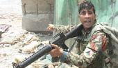 Soldat afghan à lui seul 6 Kills talibans dans l'attaque sur Parliment