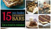 15 Bars sans cuisson: Desserts décadents en quelques minutes, Pas de four requise!