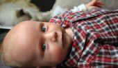 Bébé ne tourne pas sur le ventre - exercices ludiques