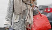 Jessica Alba fait face à la pluie dans le style!  (Photos)