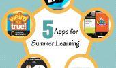 """5 applications Kid-Approuvé pour prévenir le redoutable """"Summer Slide"""""""