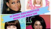 10 Disney enfants Coiffures mamans peuvent rock Trop