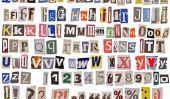 Police Cool - donc vous brodez vieilles lettres allemandes