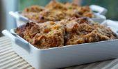 Thanksgiving Dessert: érable épicé Pumpkin Pouding au pain