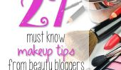 27 Must Know Conseils maquillage de beauté blogueurs