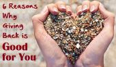 6 raisons pour lesquelles Giving Back est bon pour vous