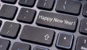 Les salutations d'Entreprises Nouveau Année - de sorte que vous pouvez les utiliser pour augmenter la fidélité des clients