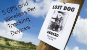 5 GPS et sans fil Pet Tracking Systems