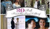 20 Scènes de mariage plus mémorable dans Films