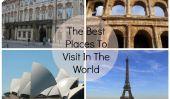 Quels sont les meilleurs endroits à visiter dans le monde?  2013 Award Winners
