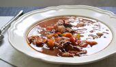Mijoteuse Ham & soupe aux haricots noirs