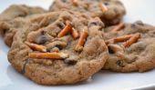Cookies aux pépites de chocolat Bretzels