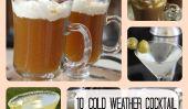Dans la bonne humeur: 10 froid Recettes Météo de cocktail pour vous réchauffer