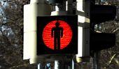 Les feux de circulation rouge et vert - de sorte que vous disent aux enfants l'importance