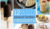 12 Frosty au beurre d'arachide Desserts