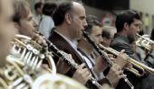 Ode à la Joie de Flash Mob Gets enfants Excité propos Musique classique