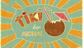 Ayons un parti de tiki (avec dranks)!