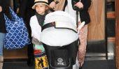Jessica Alba sort avec ses filles à la mode à New York (Photos) de