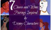 7 Fromage et vin Pairings Inspiré par les Personnages Disney