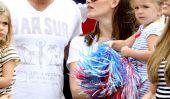 Ben Affleck et Jennifer Garner Célébrez le Jour de l'Indépendance Comme une famille (Photos)