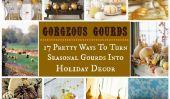 17 jolies façons de décorer votre maison avec Gourdes saisonnières