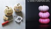 12 Mini citrouille DIYs