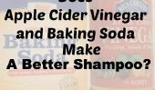 Ne vinaigre de cidre et de bicarbonate de soude faire un meilleur shampooing?