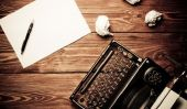 Les essais de la colonne d'écriture