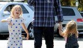 C'est Gentil!  Ben Affleck va faire les courses avec ses filles (Photos)