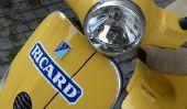 Mettez démarreur électrique - Instructions: Vespa GTS 125