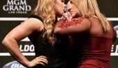 """Ronda Rousey vs. Bethe Correia: Demi-vénézuélienne & Fighters brésiliens se préparent pour la «Real Woman version de MMA Rocky IV"""" [Exclusif]"""