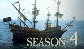 'Black Sails' Obtient Vert Allumé pour la saison 4 sur Starz