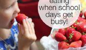10 conseils pour manger sainement les jours d'école Busy