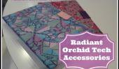 11 Accessoires Radiant Orchid Tech dans Pantone couleur de l'année