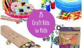 25 kits de bricolage pour avoir caché cet été