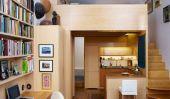 Un morceau de bois: Petit appartement à Manhattan