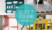 10 projets de peinture Facile à rafraîchir votre maison