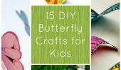 15 Artisanat papillon bricolage pour enfants