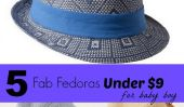 5 Fab Fedoras pour Baby Boy Under $ 9