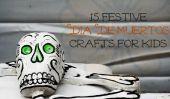 15 Día de Muertos fête de l'artisanat pour les enfants